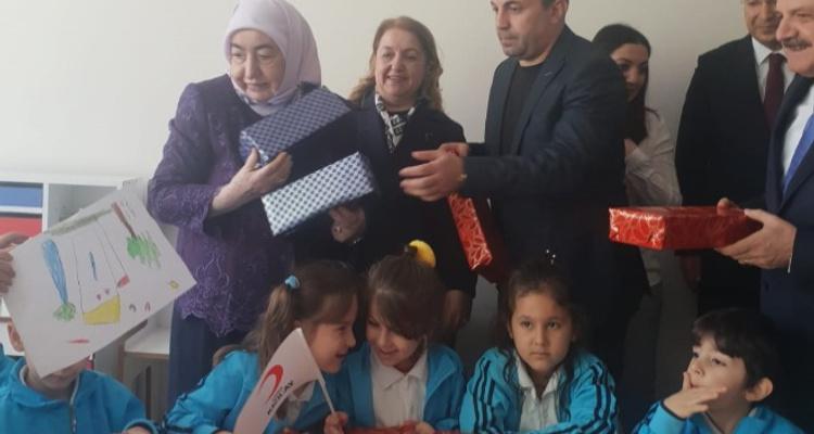 Hacı Fatma Şengül Kızılay Anaokulu´nun Açılışı Yapıldı