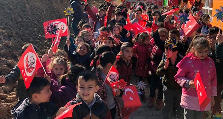 Ayhan Cahit Gülan Kızılay Anaokulu´nun Açılışı Yapıldı.