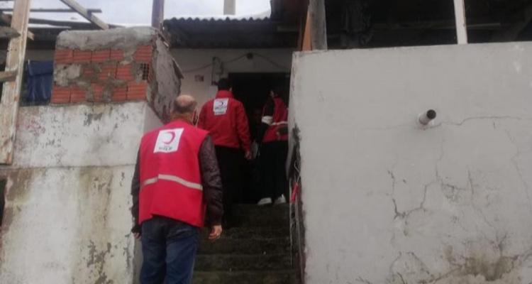 Hafta Sonu İstanbul Genelinde İhtiyaç Sahibi Ailelerimize Gıda Kolisi Yardımlarımızı Ulaştırdık.
