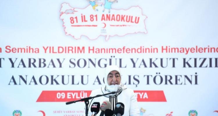 Şehit Yarbay Songül Yakut Anaokulumuzun Açılışı Gerçekleşti.